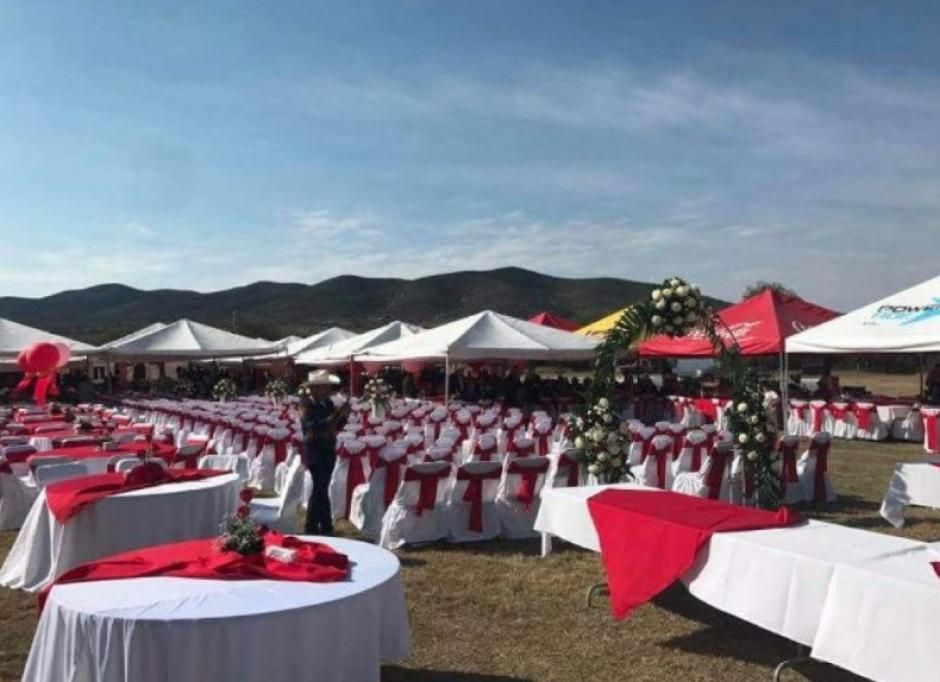 El lugar recibe a cientos de invitados de varias partes del país y del mundo. (Foto: Univisión)
