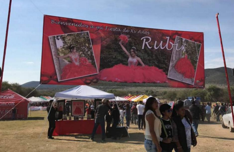 Así recibe el lugar a los invitados en La Joya, en San Luis Potosí. (Foto: Univisión)