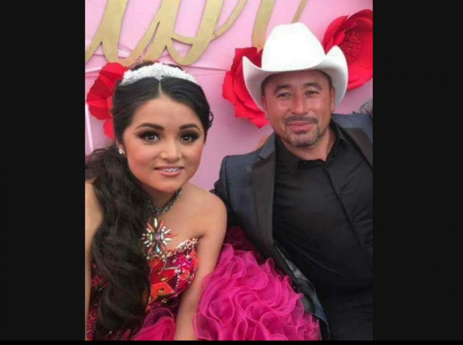 El padre de Rubí Ibarra viralizó la invitación en redes sociales. (Foto: Univisión)