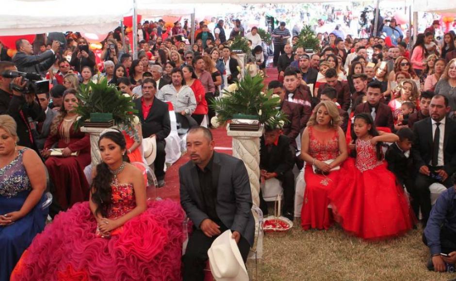Según medios mexicanos los invitados fueron 7 mil aproximadamente. (Foto: La Prensa Gráfica)