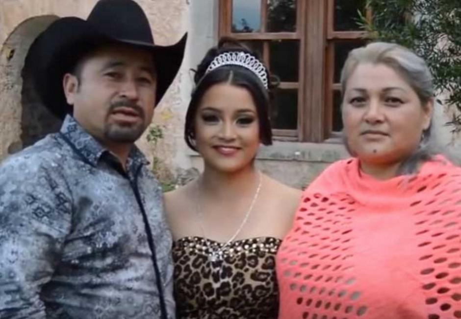 El padre de Rubí publicó el video de la invitación en redes sociales. (Foto: excelsior.com.mx)