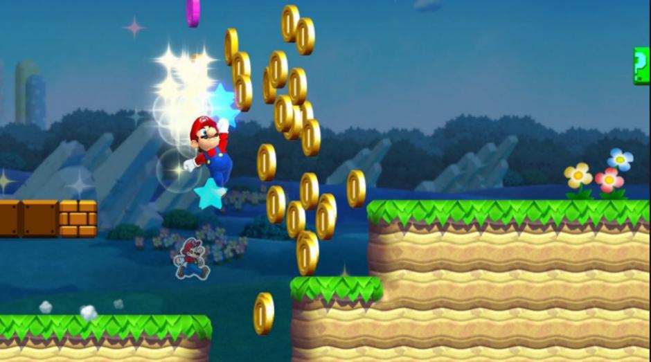 El videojuego tiene como principal truco el juntar monedas. (Foto: nintendoenthusiast.com)