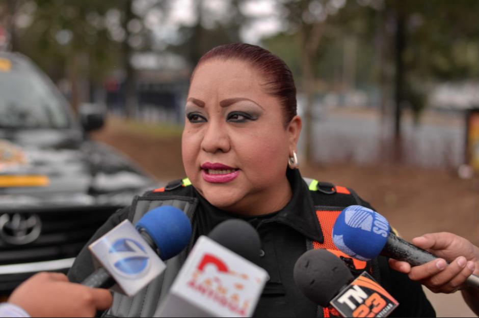 Dalia Santos pasó tres años y medio como vocera de tránsito de la PNC. (Foto: Archivo/Soy502)