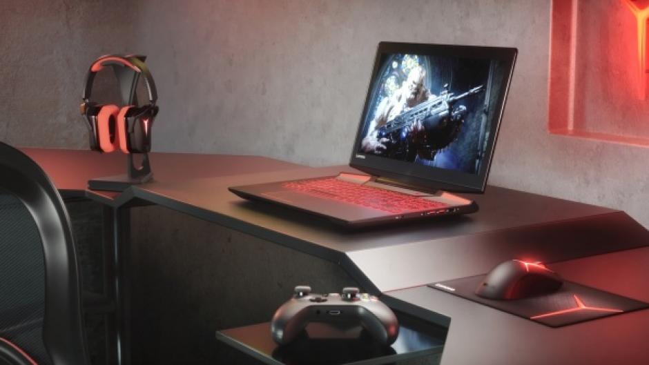 La computadora portátil Lenovo Legion Y720 ofrece la posibilidad de realidad virtual a sus usuarios.  (Foto: PC Perspective)