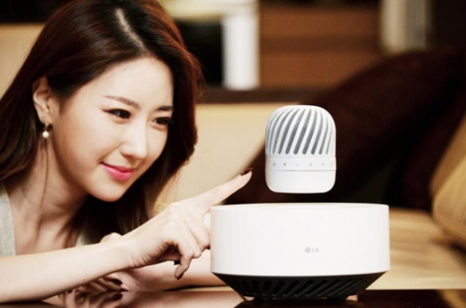 La bocina LG PJ9 ha sorprendido no solo por su calidad de audio, sino porque flota. (Foto: Gizmo Times)