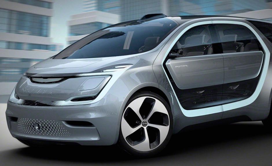 Chrysler Portal es un vehículo eléctrico que tiene la capacidad de avanzar sin necesidad de un conductor. (Foto: Omicrono)