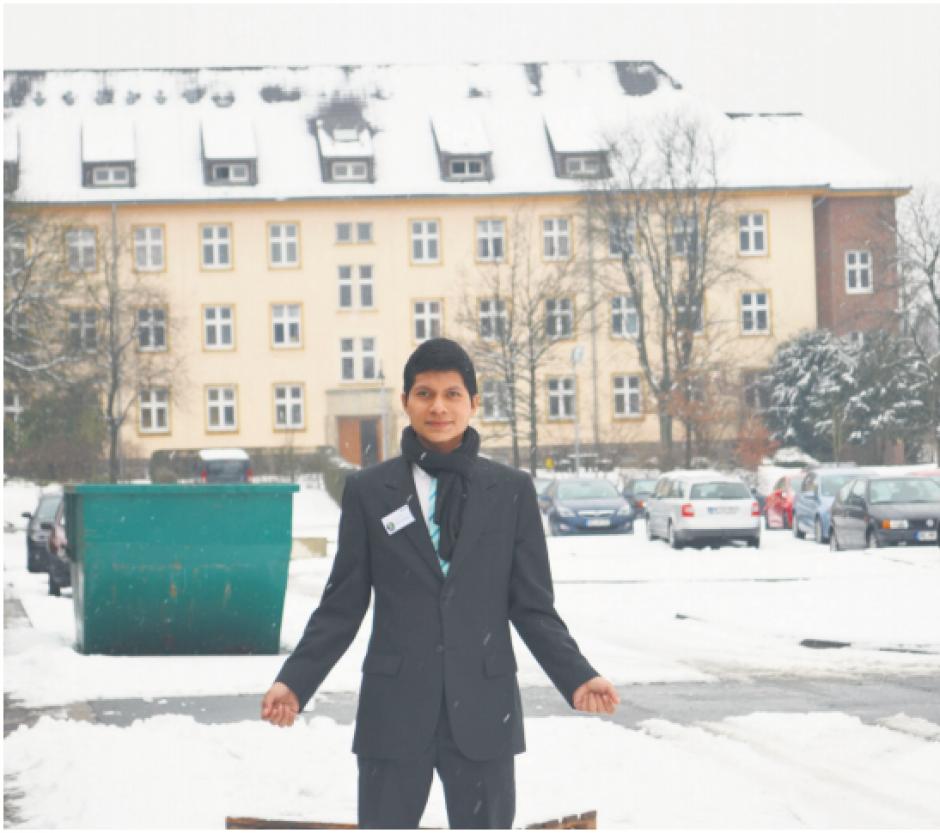 Una de sus grandes experiencias fue viajar a Alemania. (Foto: Archivo/Nuestro Diario)