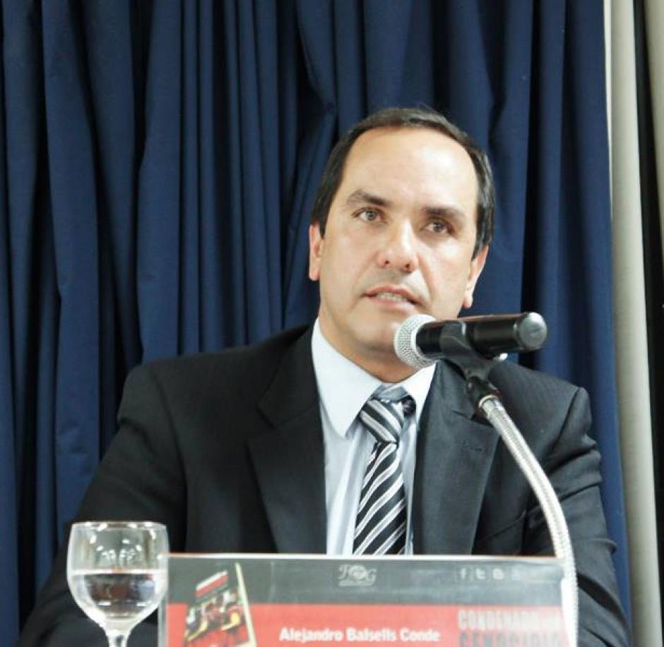 Aunque aún no se ha inscrito, Alejandro Balsells ha revelado que representará al grupo Alternativa Independiente. (Foto: Facebook)