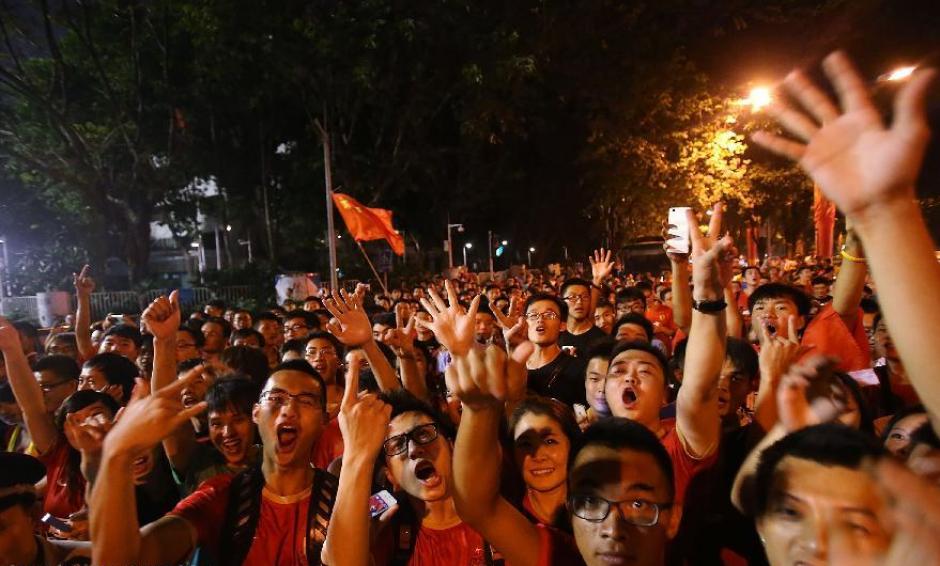 Son millones de seguidores del fútbol en China y ese es un plus para la Súper Liga. (Foto: Twitter)