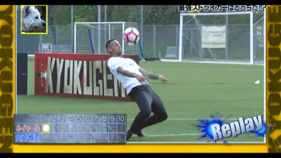 El brasileño tuvo una destacada actuación en el desafío. (Captura Youtube)