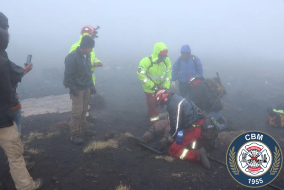Los bomberos finalizaron su búsqueda luego de encontrar el sexto cuerpo de quien estaba desaparecido. (Foto: Twitter, Bomberos Municipales)