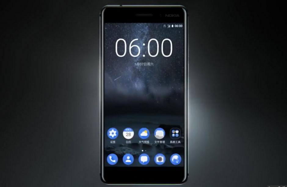 El Nokia 6 se podrá comprar inicialmente solo en China.