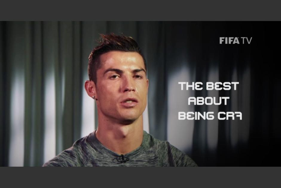 Cristiano Ronaldo se sincera en FIFA TV. (Foto: Captura de video)