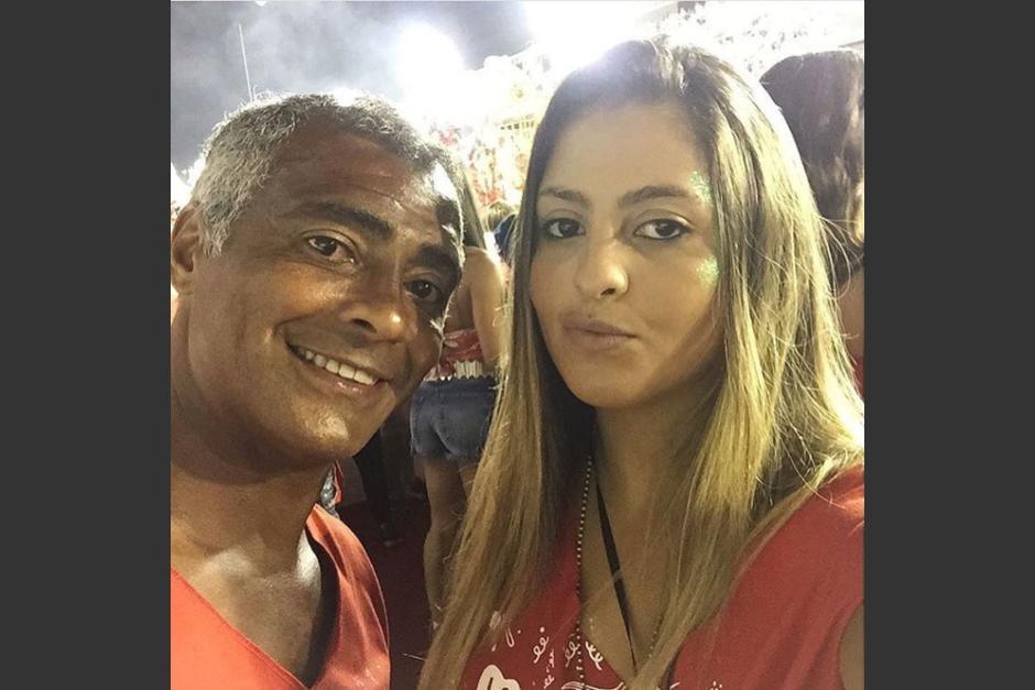 Romário junto a su hija Danielle. (Foto: Instagram/@dadafavatto)