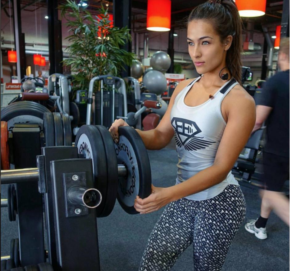 Es una de las modelos fitness más solicitada en Europa. (Foto: Instagram/@nochtlii)