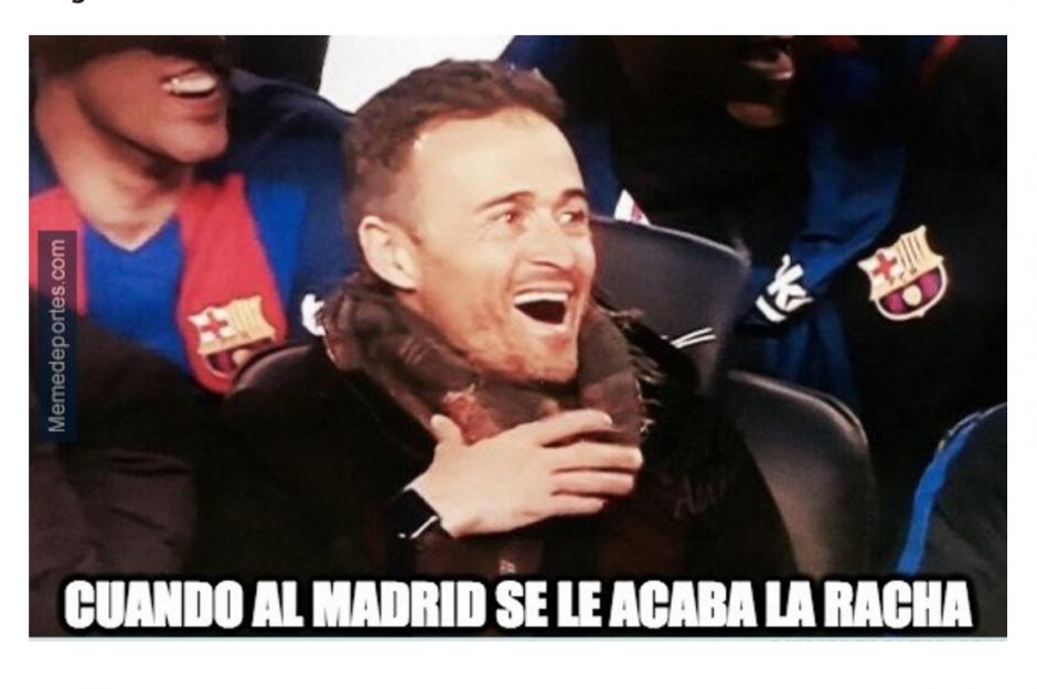 También el entrenador del Barcelona fue motivo de burlas. (Foto: memedeportes.com)