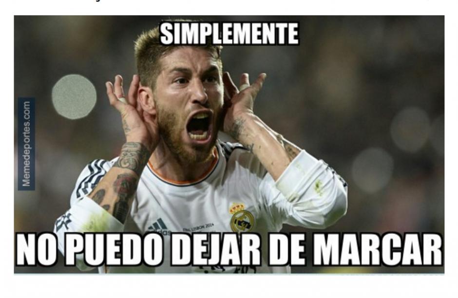 Ramos se caracteriza por marcar a último minuto, pero en su favor. (Foto: memedeportes.com)