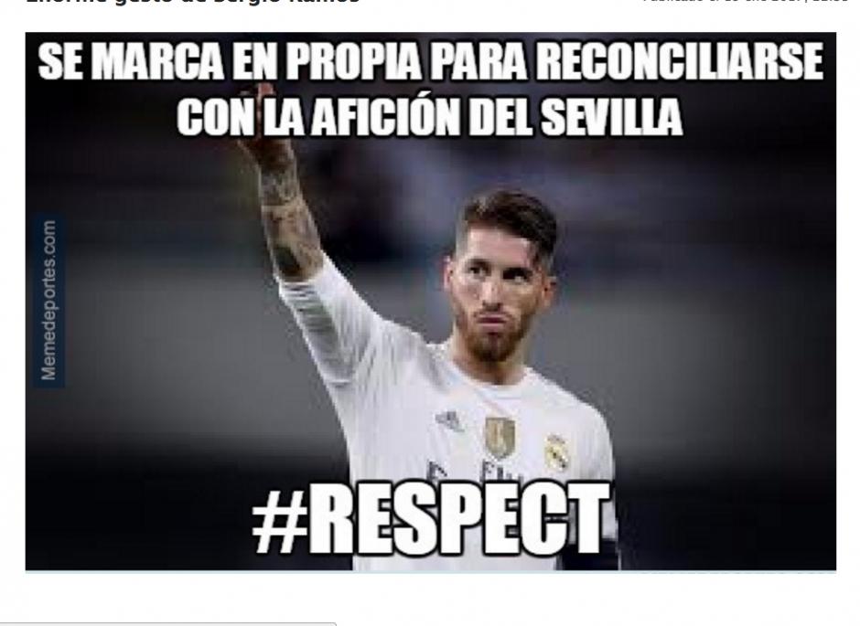 Sergio Ramos salió de la cantera del Sevilla hace algunos años. (Foto: memedeportes.com)