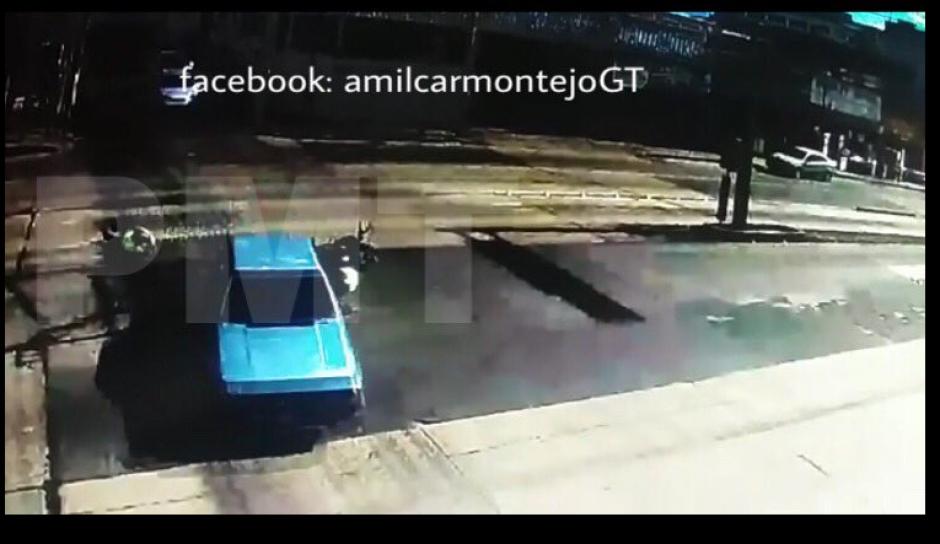 El auto fue identificado en las cámaras de seguridad. (Foto: Amilcar Montejo/PMT)