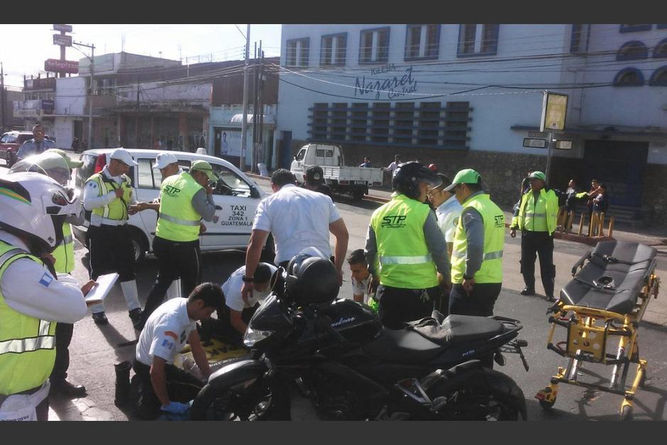 Un conductor atropelló a dos supervisores de tránsito. (Foto: Amilcar Montejo/PMT)