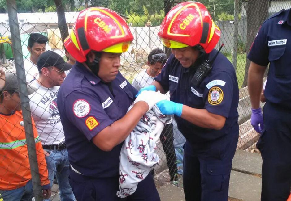 Se informó que la pequeña no sufrió por el intenso calor del mediodía. (Foto: Amilcar Montejo/PMT)