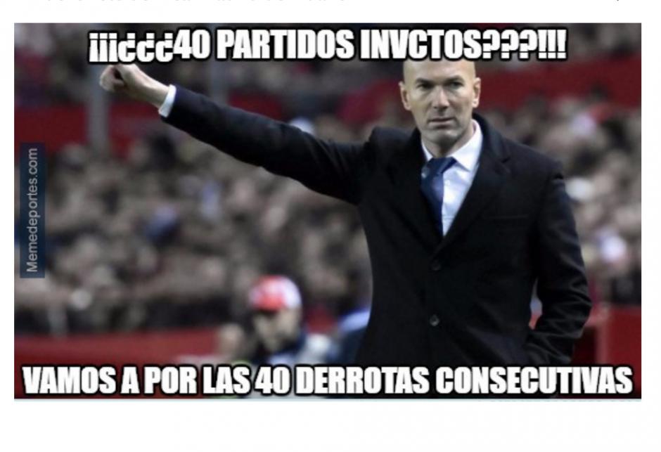 Los aficionados del Real Madrid reprochan la nueva derrota. (Foto: Memedeportes)