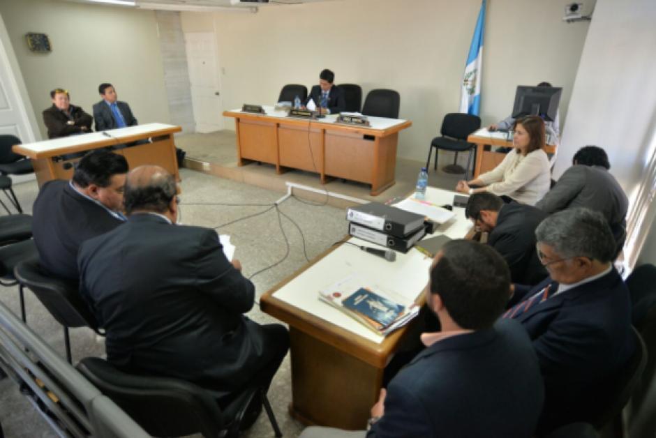La audiencia de primera declaración fue programada por el Juzgado Tercero de Instancia Penal. (Foto: Wilder López/Soy502)