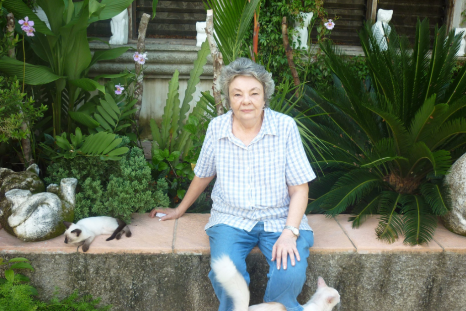 Carmen de Aldana es la dueña de está particular marca mundial. (Foto: Ginnness World Records)