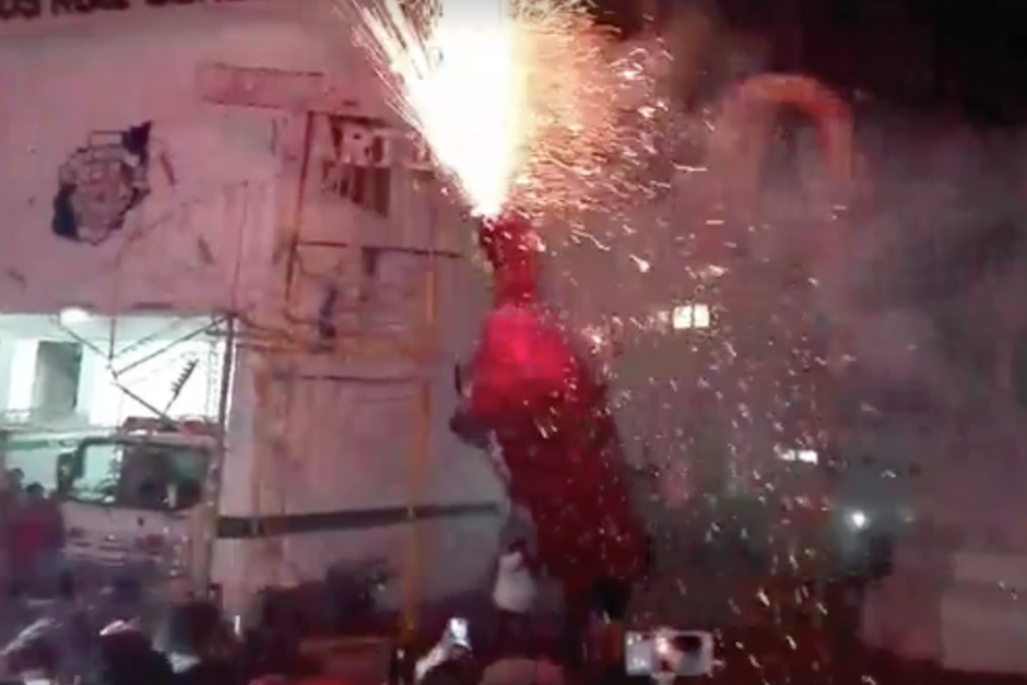 Los hechos ocurrieron durante la fiesta patronal de El Tejar. (Foto: Noticias Sin Límites)