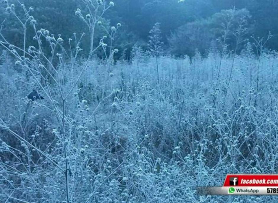 El fuerte frío afecta el territorio nacional por un sistema de alta presión. (Foto: Facebook/Knal 4 Quiché)