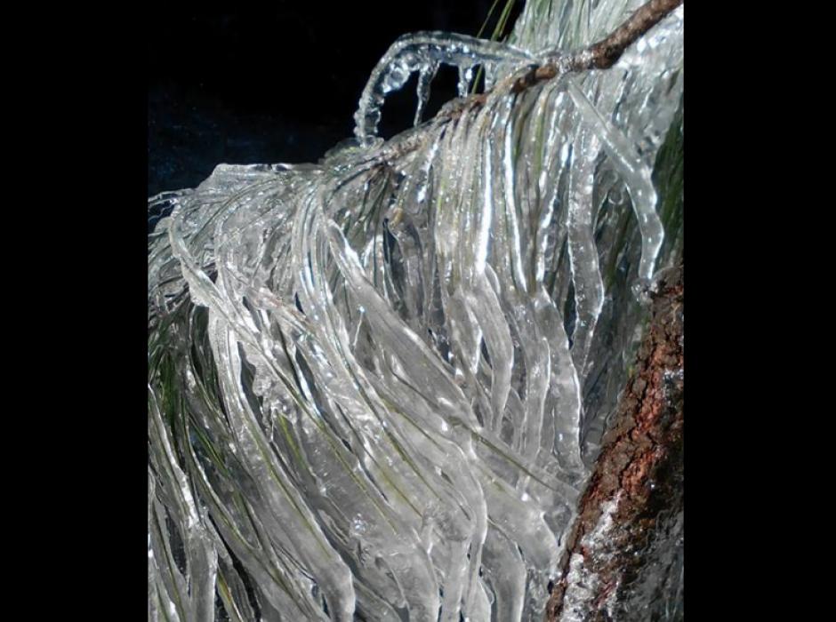 Las temperaturas en el Occidente del país llegaron a los cero grados centígrados. (Foto: Maribel Aguilar/San Lorenzo Impresionante)
