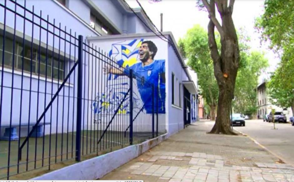 En esta escuela estudió Luis Suárez cuando era niño. (Foto: Globoesporte / GDA)