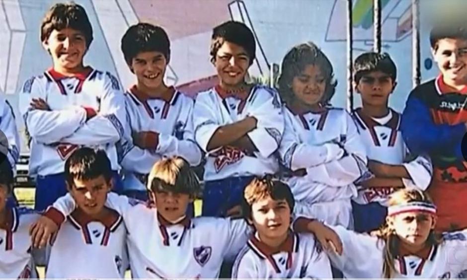 La típica foto del equipo completo. (Foto: Globoesporte / GDA)