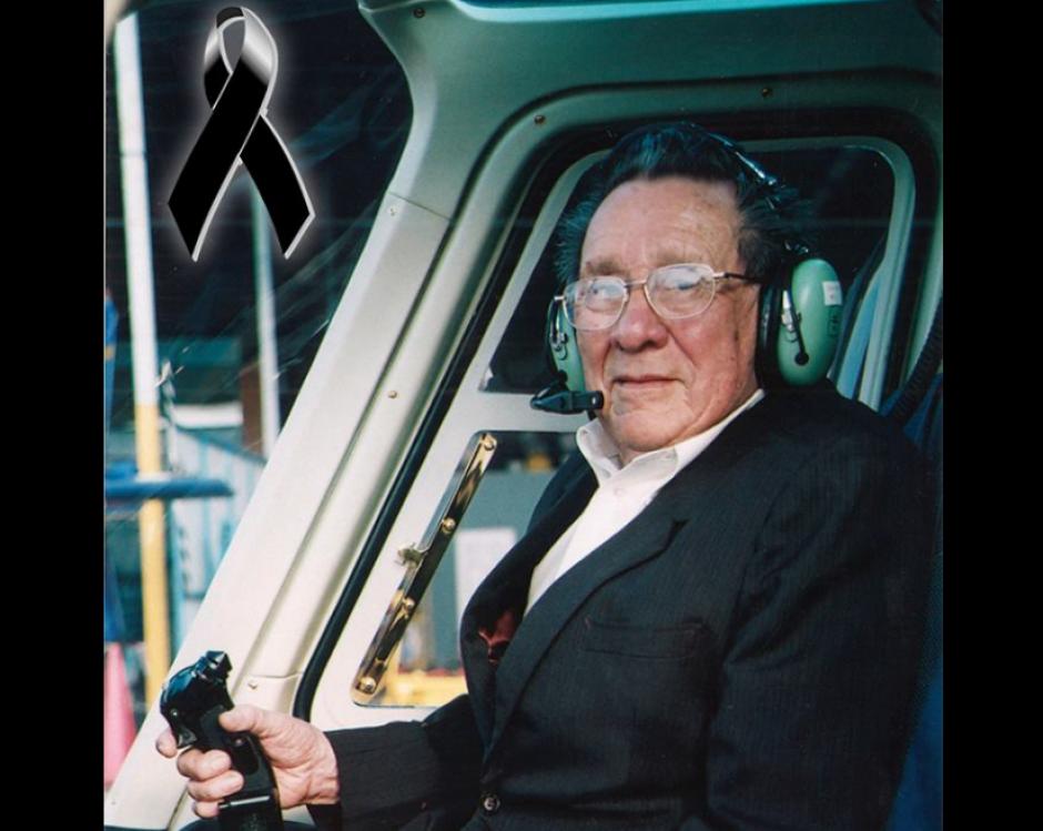 El motivo fue ofrecer un homenaje al fundador de los vuelos, Héctor Morataya. (Foto: Facebook/Helicópteros de Guatemala)
