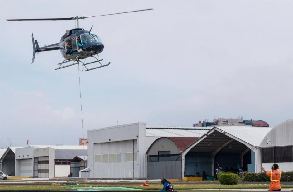 Las naves salieron en conjunto por primera vez en varios años. (Foto: Facebook/Helicópteros de Guatemala)