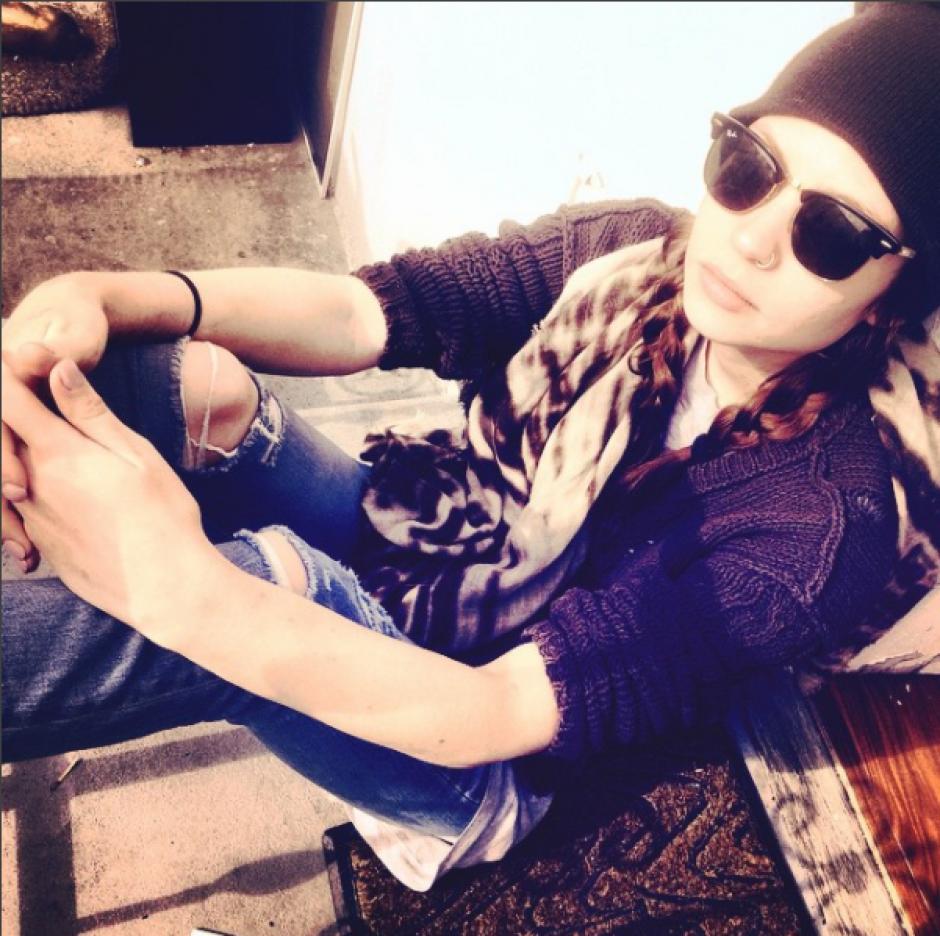 Daveigh Chase ahora luce un estilo más híspter. (Instagram Daveigh Chase)