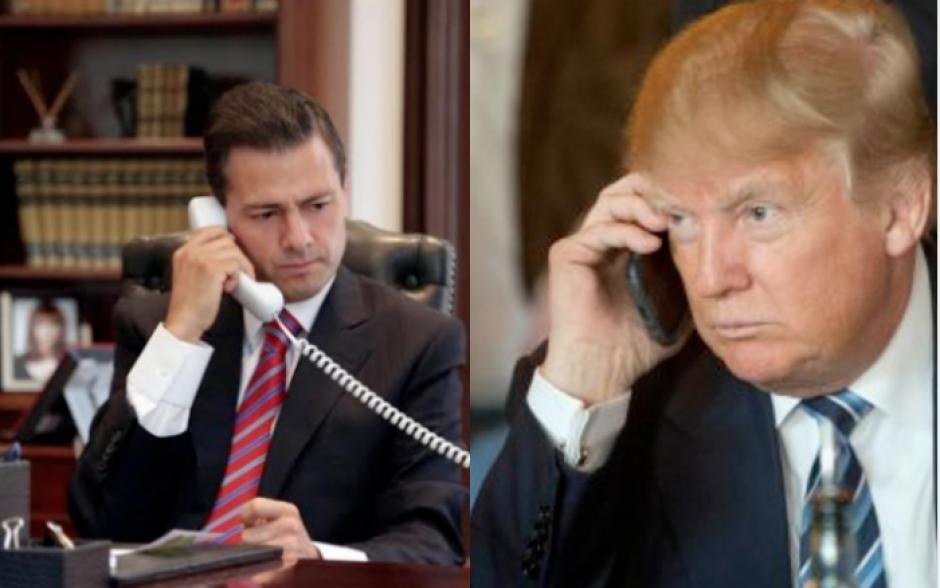 Trump y Peña Nieto hablaron por teléfono. (Foto: Archivo/Soy502)