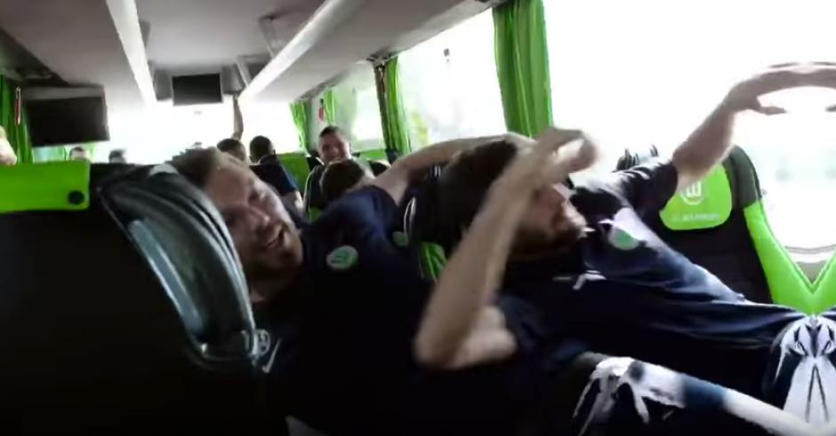 Los jugadores se llevaron un buen susto. (Foto: Captura de video)