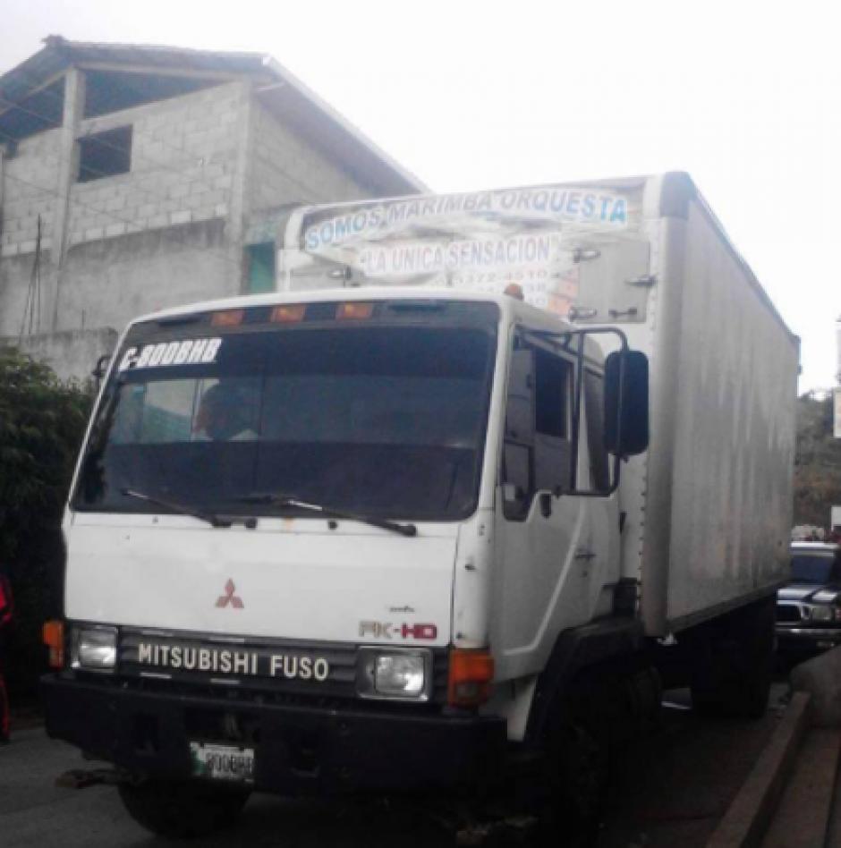 La marimba orquesta fue despojada de su camión e instrumentos el pasado 27 de enero, en Retalhuleu. (Foto: Facebook/Walter Miranda)