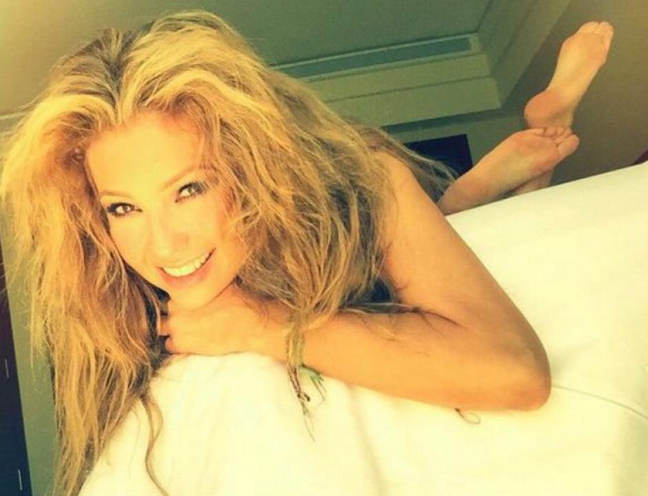 Thalía es una celebridad muy activa en redes sociales.