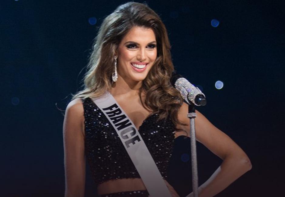 Iris Mittenaere, representante de Francia, fue coronada como la nueva Mis Universo. (Foto: Twitter/TNT)