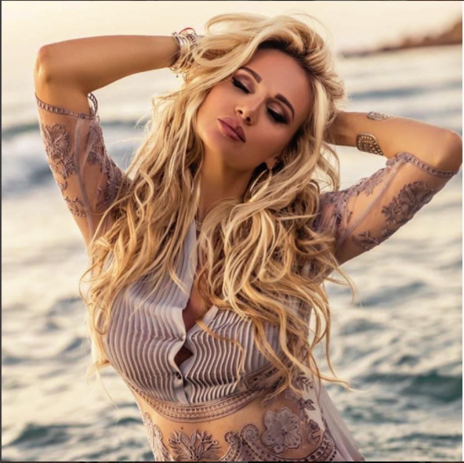 Victoria Lopyreva actualmente trabaja como presentadora de televisión. (Instagram Victoria Lopyreva)