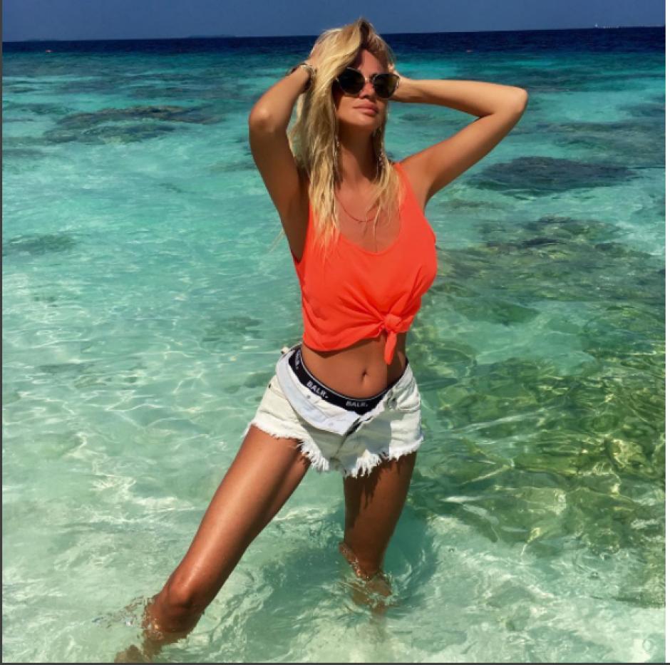 La bella rubia compartió la foto en su cuenta de Instagram. (Instagram Victoria Lopyreva)