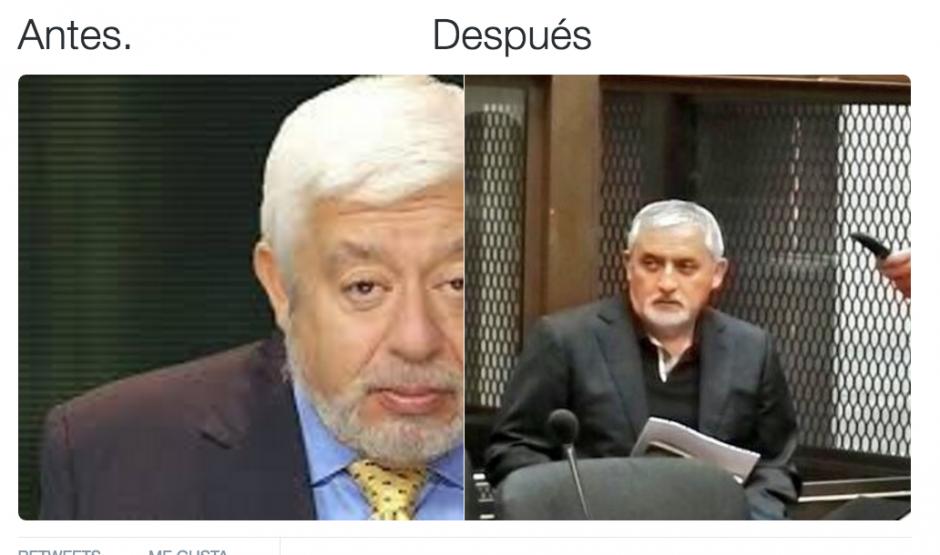 Su imagen sirvió para compararlo con personajes de la televisión. (Foto: Twitter/@ElTaliban87)