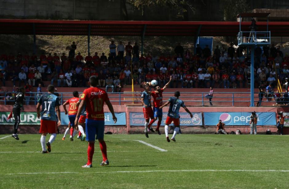 Mictlán ha hecho un buen partido ante los Rojos. (Foto: Alejandro Balan/Soy502)
