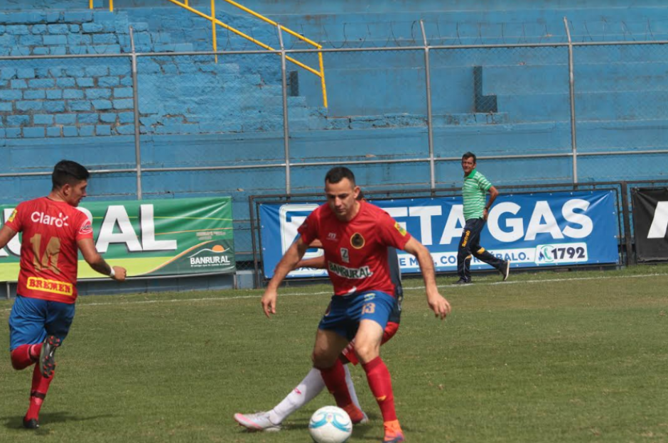 Una asistencia para el primer tanto logró el jugador de los Rojos. (Foto: Luis Barrios/Soy502)