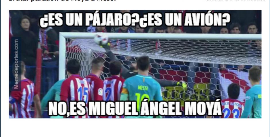 El gol de Messi fue vistoso. (Foto: MemeDeportes.com)