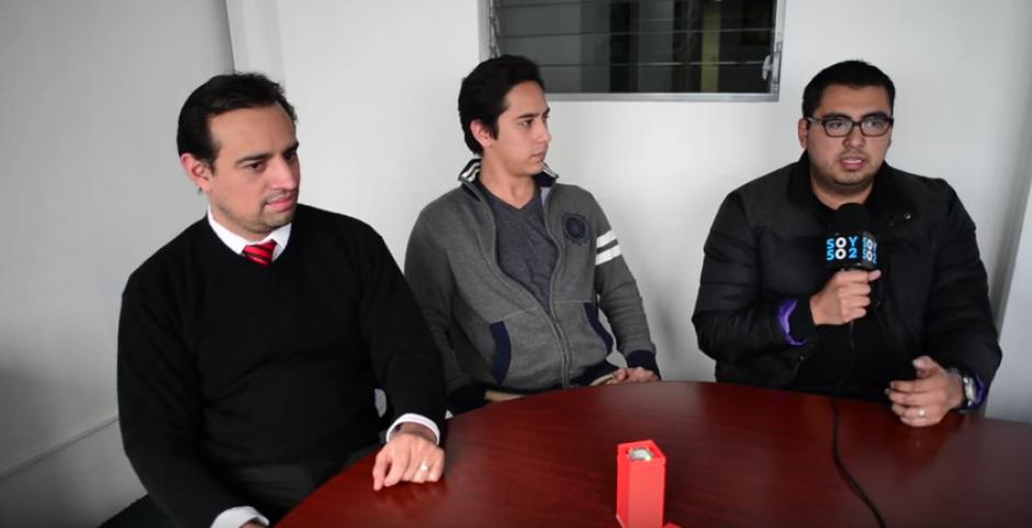 Francisco Calderón, Rodrigo Kestler, Jorge Sandoval y Edwin Kestler iniciaron esta empresa nacional. (Foto: captura de pantalla)