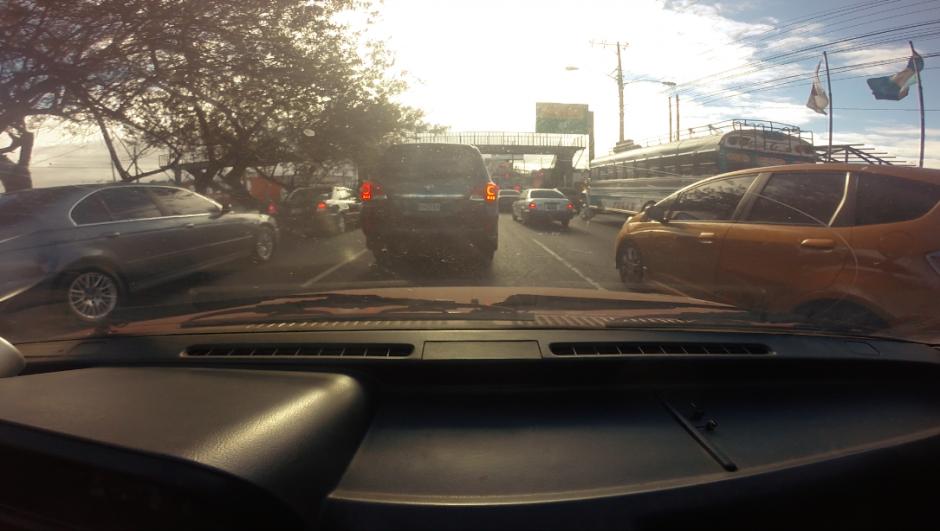 La calzada Roosevelt es uno de los puntos conflictivos para el tránsito. (Captura Video)