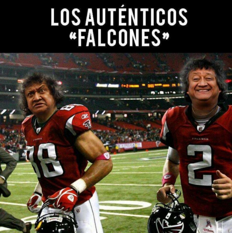 Muchos relacionaron el nombre del equipo rival de los Patriotas con el comediante mexicano Jorge Falcón. (Imagen: Twitter)